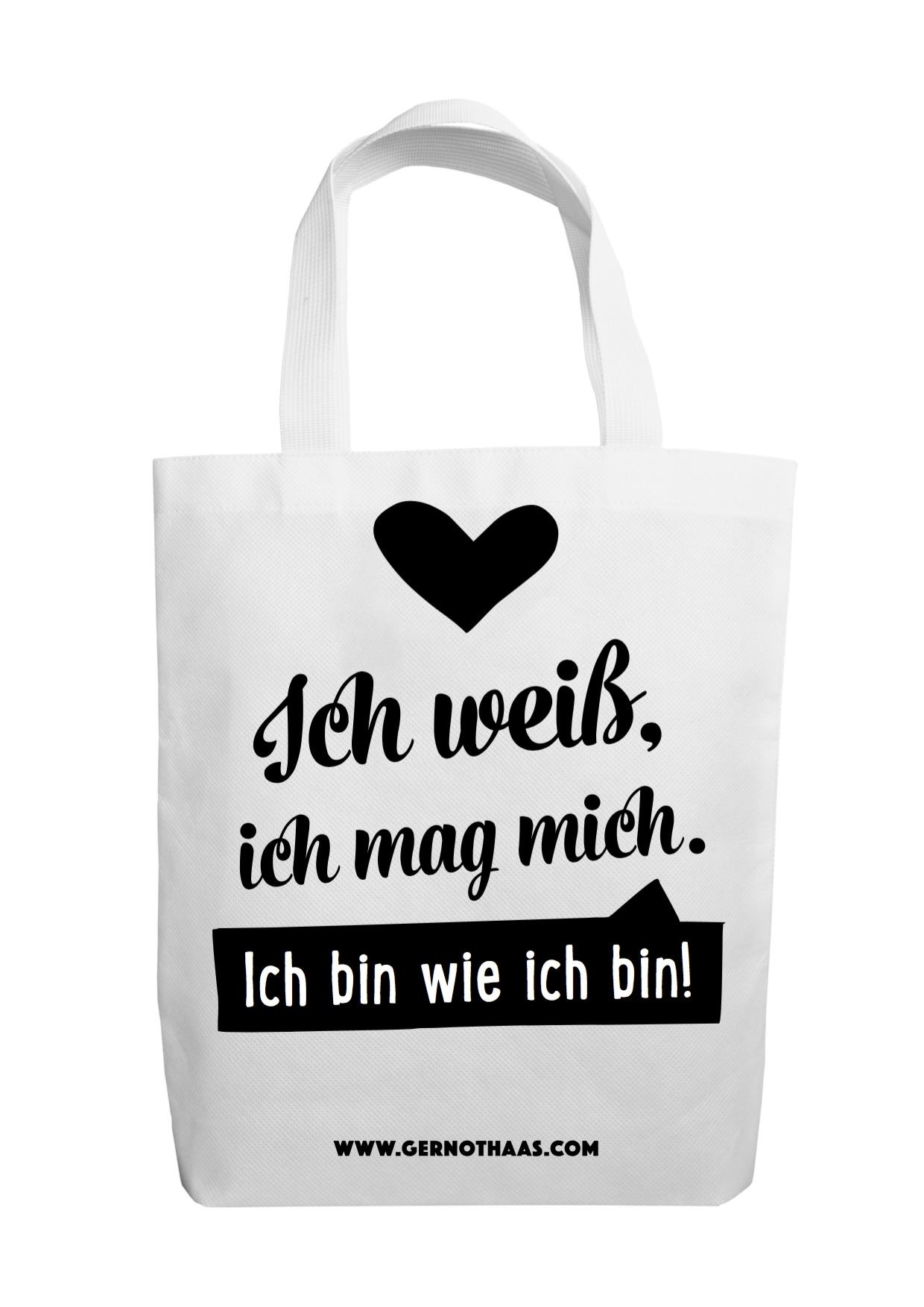 Merchandising Bag Ich Mag Mich Gernot Haas